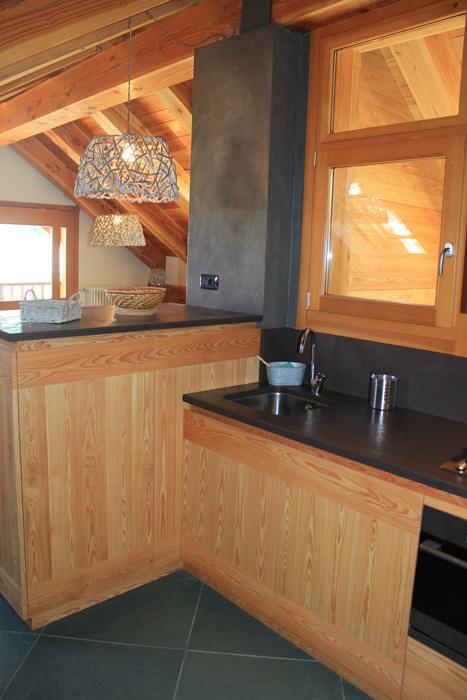 Vendita casa di montagna piemonte gruppo canuto mattia - Cucina color melanzana ...