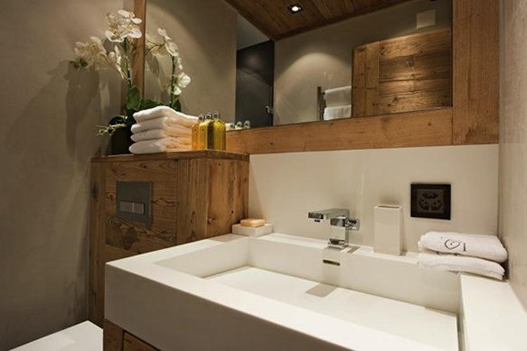 bagno lavabo corian